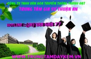 Gia sư dạy kèm tại nhà Thuận An