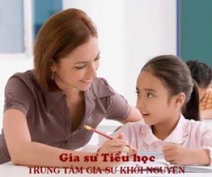 Gia sư dạy kèm tiểu học
