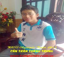 HCV Olympic Toán 2013 - Cấn Trần Thành Trung