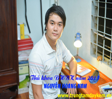 Thủ khoa ĐHBK năm 2013 - Nguyễn Hoàng Nam